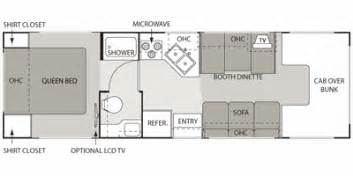 Chateau Rv Floor Plans by 2009 Four Winds Chateau Series M 28a E35 V10 Floorplan