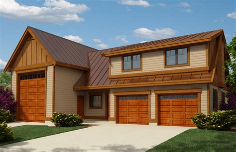 Garage Home Plans by Rv Garage Apartment With Guest Bed 9839sw