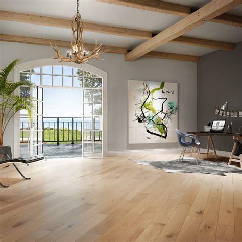 Smooth, White Oak Nautilus   Vintage Hardwood Flooring