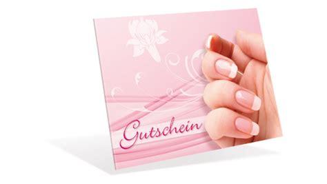 gutschein klappkarten french nails