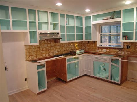 Painting Inside Of Kitchen Cabinets | retro ranch reno the magic of paint