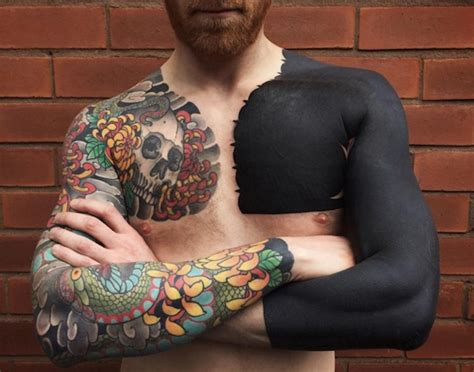 gorgeous customized solid black tattoos that are truly