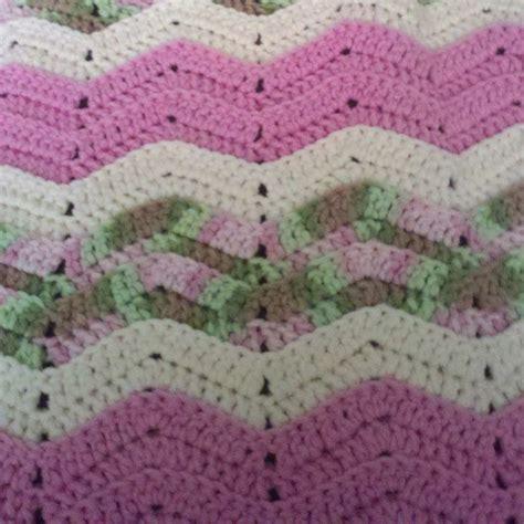 pattern crochet ripple afghan ripple crochet baby afghan pattern