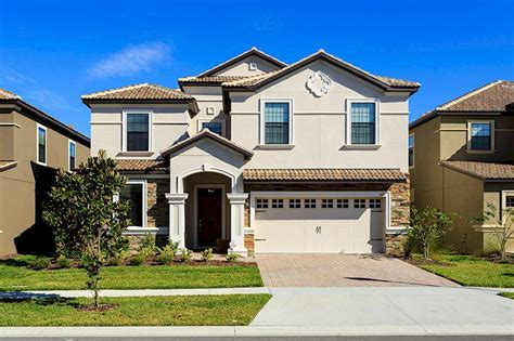 8 bedroom vacation rentals in orlando florida luxury 8 bedroom 5 bath rental on the retreat at chions