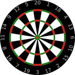 Canadian Tire High Chair Dartboard Clip Art At Clker Com Vector Clip Art Online