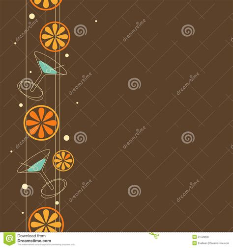 pattern theme photography seamless cocktail pattern royalty free stock photography