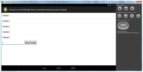 android mvc android mvc criando um framework model view controller para android