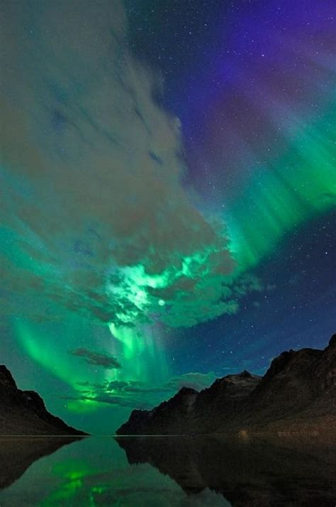 see northern lights in alaska aurora borealis over norway incredible pinterest