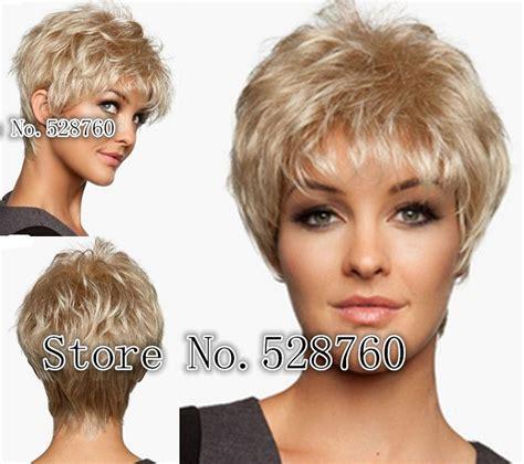 short blonde wigs for women women s short wig light butterscotch blonde short straight