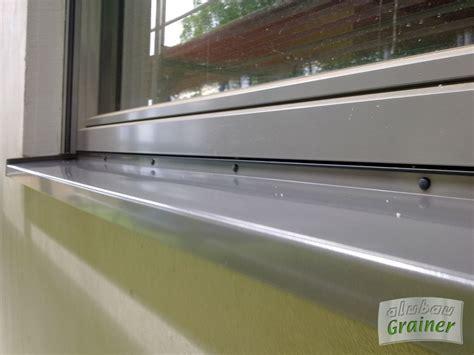 fensterbrett innen montieren alubau grainer balkone z 228 une tore gel 228 nder fenster