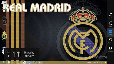 free download themes for windows 7 real madrid real madrid theme for windows 8 ouo themes