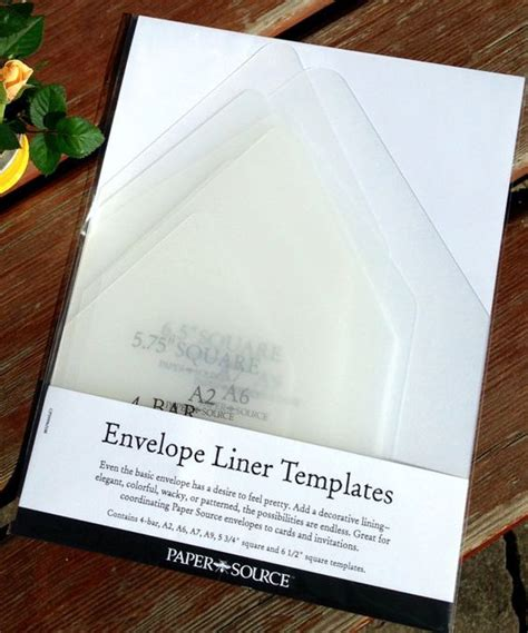 envelope template kit diy envelope liner template kit by darlingdesignco on etsy