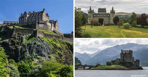 best scottish best scottish castles spectacular or enchanting