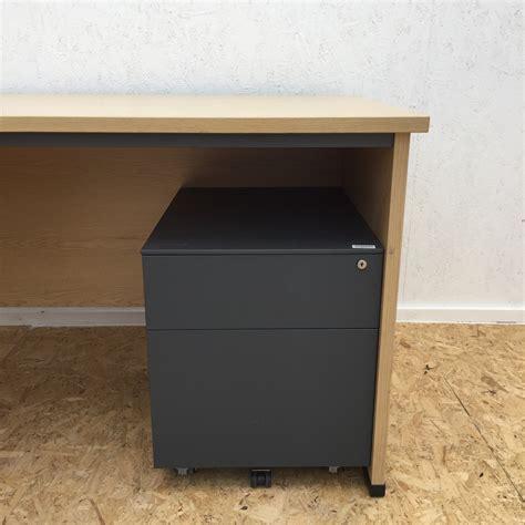 second corner desk left corner desk with mobile pedestal office kit