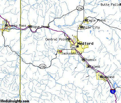 map of jacksonville oregon jacksonville vacation rentals hotels weather map and