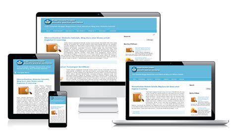 membuat website gratis dengan blogspot membuat website sekolah dengan blogger dan template blog