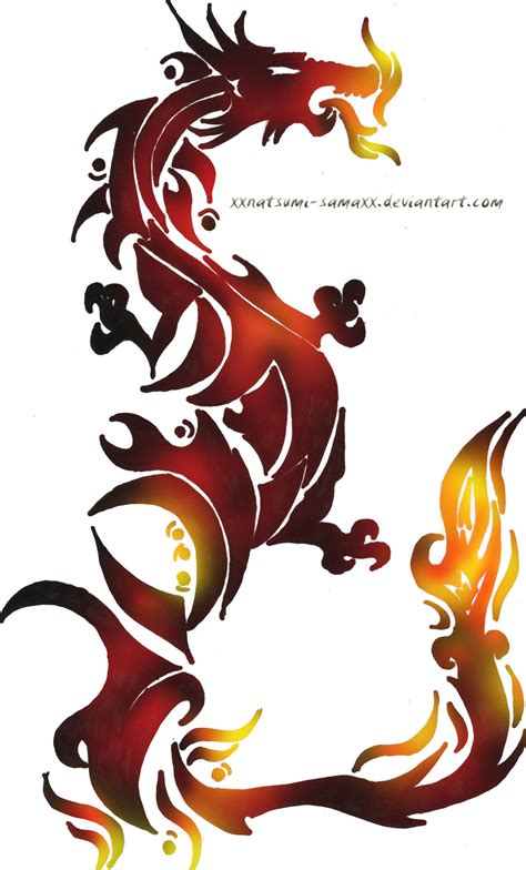 dragon with fire tattoo designs design sle
