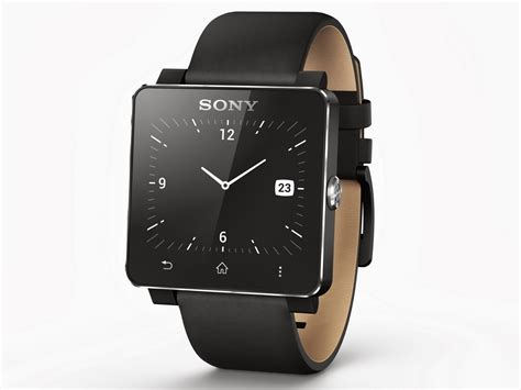 Sony Smartwatch 2 Sony Unveils 6 4 Inch Xperia Ultra Phablet And Smartwatch