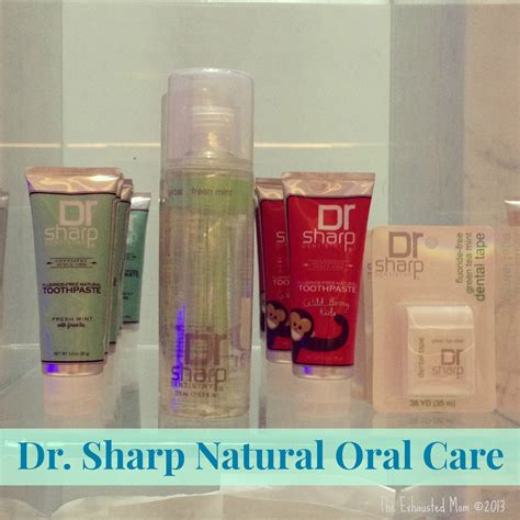 Dr Faissol Dr Sharp Fluoride Free Herbal Toothpaste by Dr Sharp Care Giveaway The Exhausted