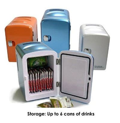 Freezer Ukuran Mini qoo10 brand new premium portable mini fridge 4 litre for use in car home kitchen