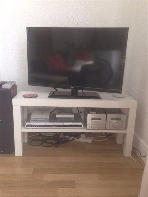 tv chair ikea ikea lack tv bench white in headingley west