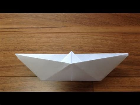 origami floating boat origami how to make a floating boat