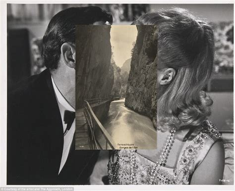 splitting image  surreal portraits splicing
