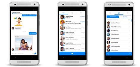 fb seluler fb messenger baru memiliki cara kerja seperti whatsapp