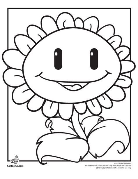 plants vs zombies coloring pages free coloring pages of plants vs zombies garden