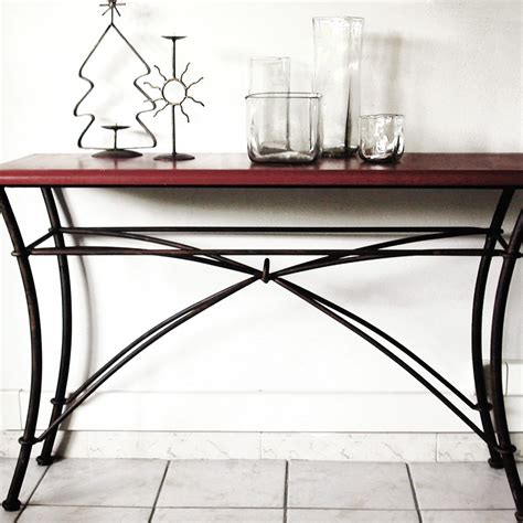 chambre fer forge blanc