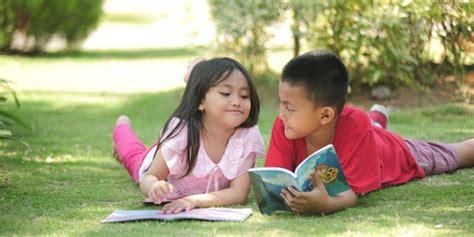 Pangsi Betawi Anak No 6 8 10 12 teknik 10 menitan membuat anak suka baca dan mencintai buku gspradio