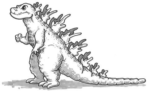 coloring pages of godzilla free godzilla colorear coloring pages