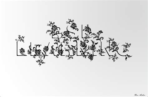 typography flower tutorial nature inspired photoshop text effects tutorials photodoto