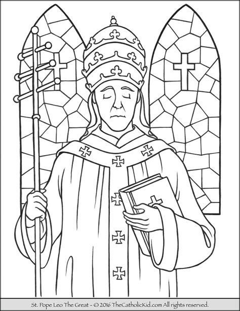 coloring page catholic 17 best images about catholic saints coloring pages on