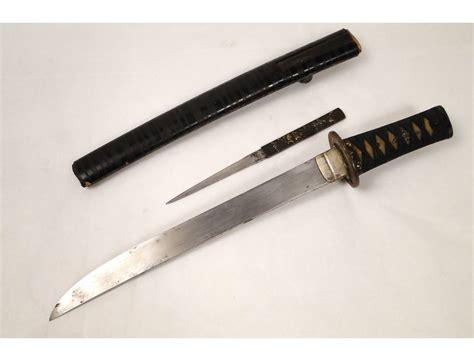katana knife japanese katana sword with knife nineteenth