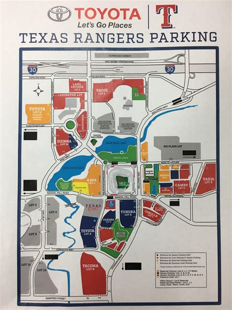 texas rangers parking lot map parking at a rangers this season pay with your phone or a credit card wfaa
