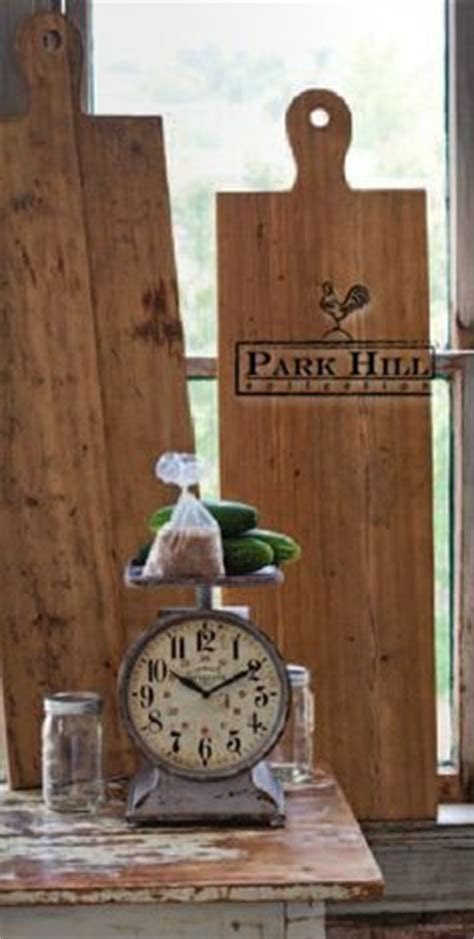 park hill collection home decor on wooden