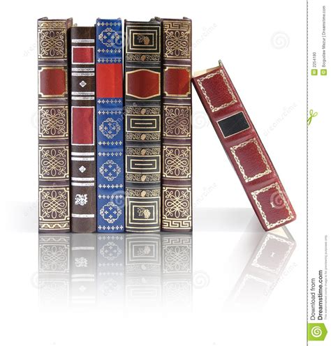 a reflected books books stock photo image 2254180