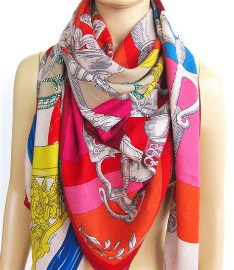 Hermes Satin Shawl hermes cavalleria d etriers oatmeal silk shawl