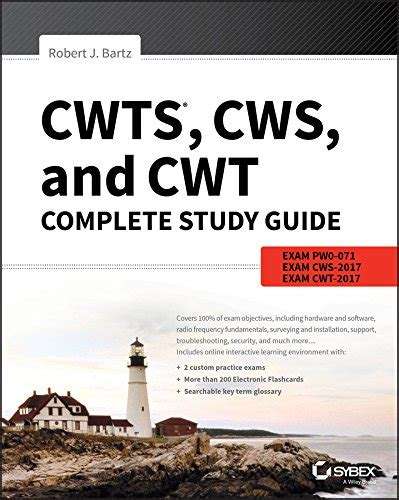 cws 100 certified wireless specialist official study guide books cwts cws and cwt complete study guide exams pw0 071