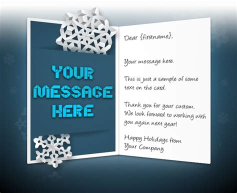 holiday ecards  business corporate custom personalised