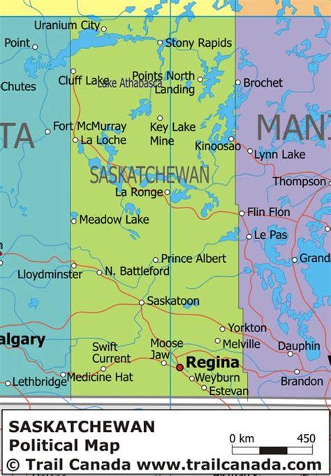 map of saskatchewan canada political map of saskatchewan canada