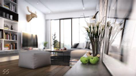 asian inspired modern nordic home with luxury touches calla lilies in modern scandinavian style living
