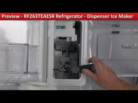 reset samsung ice maker resetting the ice maker samsung french door refrigerator