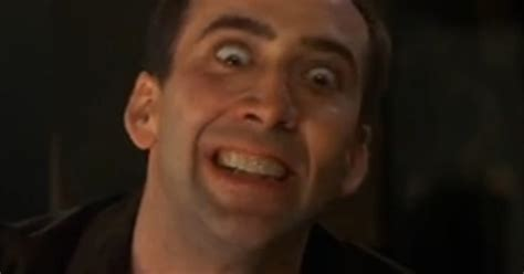 nicolas cage film zukunft schauen supercut every nicolas cage movie laugh ever vulture