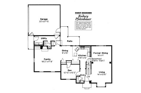 colonial house floor plans colonial house plans iverness 42 008 associated designs