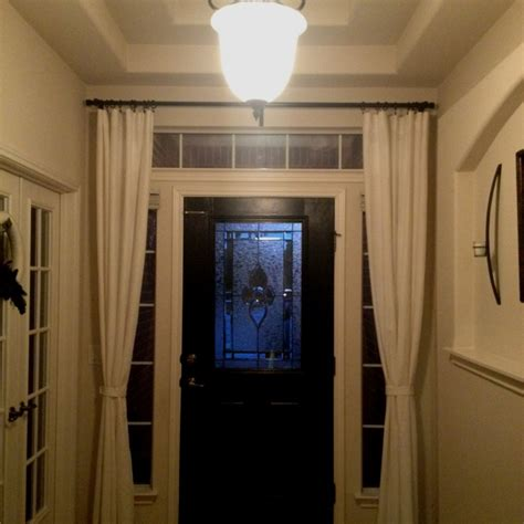 curtain over front door best 25 door curtains ideas on pinterest front door