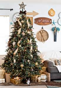 rustic luxe christmas tree 12 bloggers of christmas with