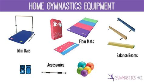 home gymnastics equipment guide to the best mats bars