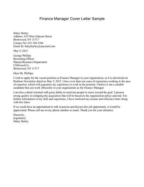 Database Manager Cover Letter Cover Letter Templates